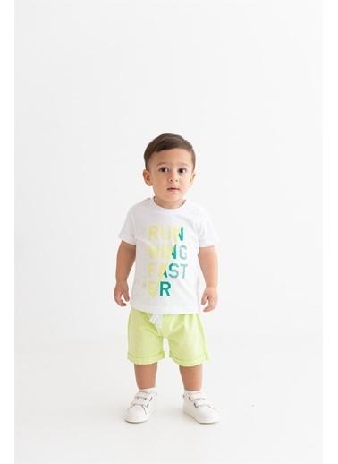 Panolino  Erkek Bebek Takım 17547 Beyaz